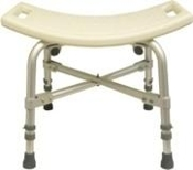 PCB-730SS, 500lbs cap., Bariatric Shower Stool
